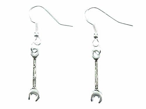 Schraubenschlüssel Ohrringe Miniblings Maulschlüssel Ringschlüssel Werkstatt