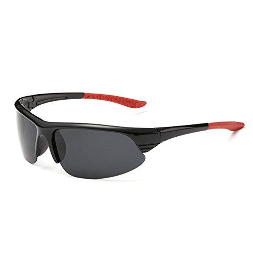 ZDQ Occhiali da Sole Sportivi Occhiali Anti-Impatto da Esterni Occhiali da Sole Fascia Sport Occhiali da Sole Cambio Occhiali UV Filtro da Sci Ciclismo Pesca Alpinismo Golf Windbreak