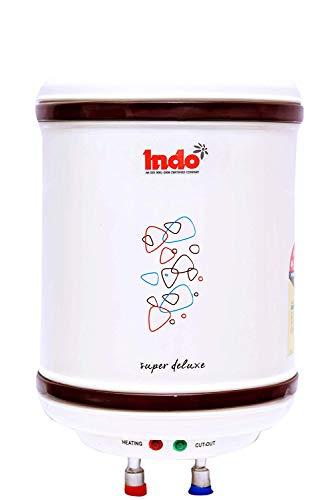 Indo Delux Storage Water Heater (Ivory, 15L)