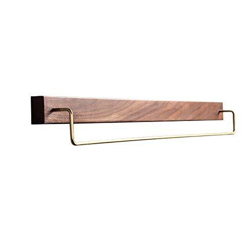 サモドラタ 天然木 オル掛け タオルハンガー 穴あけ不要 ソリッドウッド 強力 粘着 洗面所浴室 キッチン 耐久性 安全性 簡単に取り付け