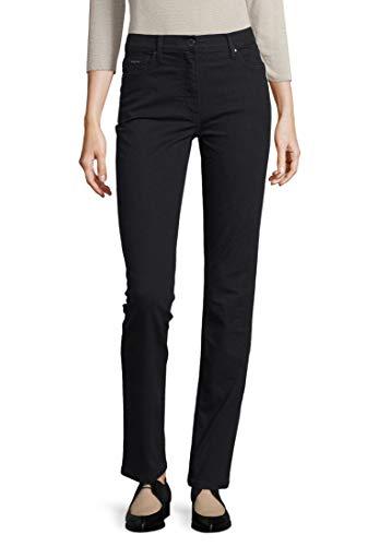 Betty Barclay Damen 3810/1803 Straight Jeans, Schwarz (Black/Black Denim 9620), (Herstellergröße: 38)