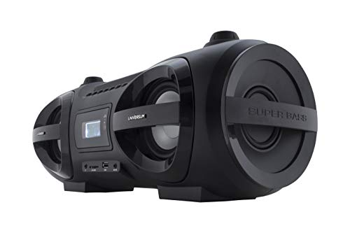 Universum CD-Player Boombox Ghettoblaster mit Radio, CD, MP3, Bluetooth, USB, AUX BB 500-20