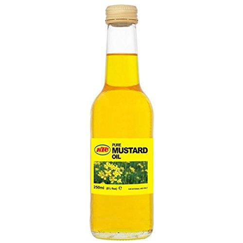 KTC - Huile de moutarde pure - multi-usage - peau/cheveux/massage - 250 ml