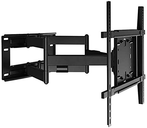 Lzpzz Soporte de Montaje en Pared de TV Compatible con VESA 800x500mm 116-708mm Brazo de Soporte telescópico Puede Girar 50-90 Grados;Inclinación + 15 / -5 deg;Adecuado para el televisor 50-90