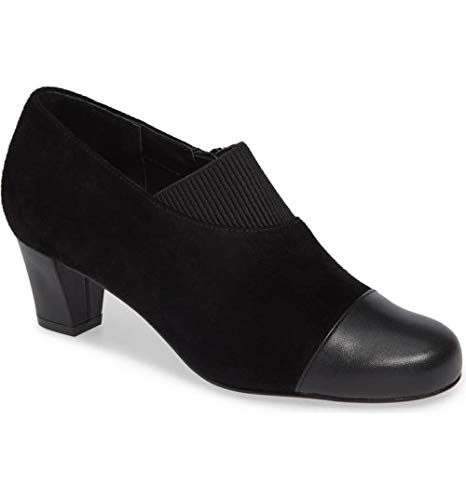 David Tate Womens Hope Leather Closed Toe Classic Pumps, Black, Size 8.5