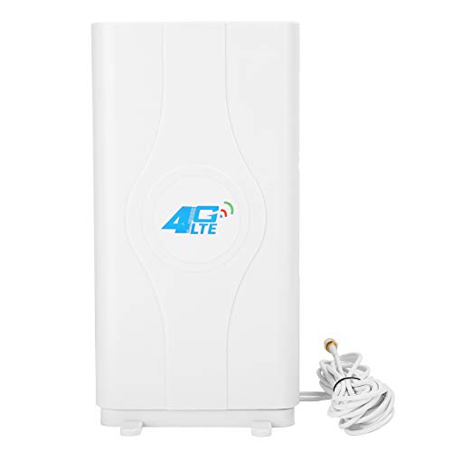 Tarjeta de Red Antena Laptop Accesorios para Tableta Sistema WiFi 4G LTE Doble SMA Blanco