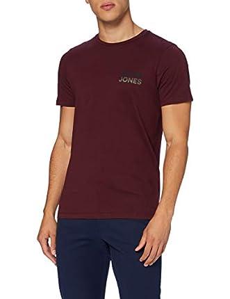 Jack & Jones JJJACK tee SS Crew Neck Camiseta, Port Royale, L para Hombre
