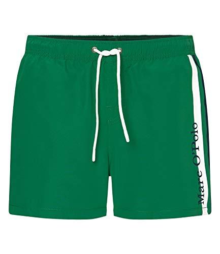 Marc O'Polo Body & Beach Herren Beach M-Swim Shorts, Grün (Grün 700), X-Large (Herstellergröße: XL)