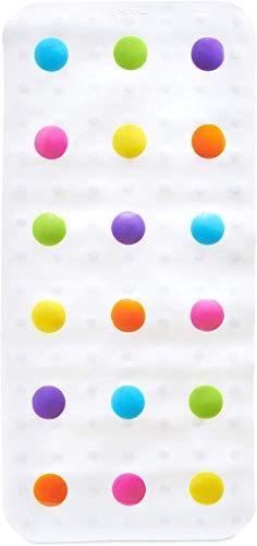 Munchkin - Alfombrilla de baño de lunares, multicolor