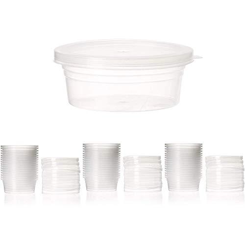 Vorratsdosen mit Deckel, für Schaumstoffkugeln, 20 g Fassungsvermögen, für Schleim, 48 Stück