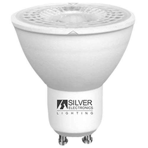 Silver Electronics 1440910 LED Eco Dicroica GU10, 8 W, Blanco