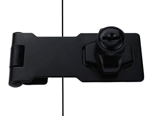 Keyed Hasp Lock Black 3