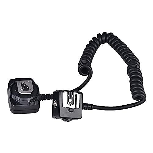 Entatial 19,7-31,5 Pollici Ttl off Camera Flash Speedlite Cavo per Nikon Ttl Flash Ttl Flash SYNC Cavo di prolunga per Fotocamere per Nikon