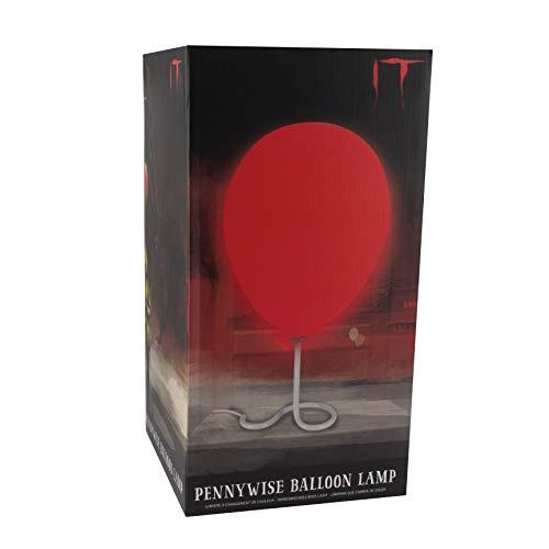 Paladone Lámpara de Globo Pennywise, 75 W, Rojo