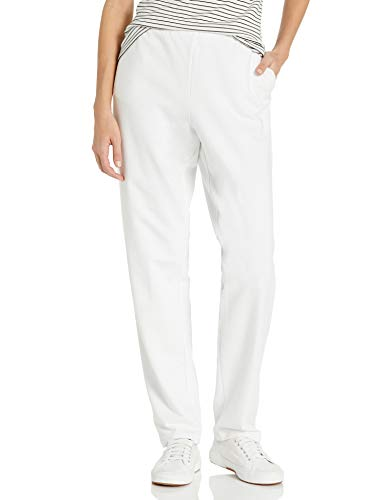 Ruby Rd. Women's Pull-on Stretch French Terry Pants, White, S