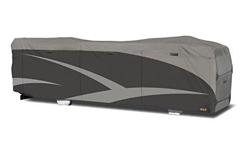 """ADCO 52205 Designer Series SFS Aqua Shed Class A RV Cover - 31'1"""" - 34', Gray"""