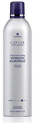 Price comparison product image CAVIAR Anti-Aging Professional Styling Working Hair Spray,  Flexible Hold,  15.5-Ounce