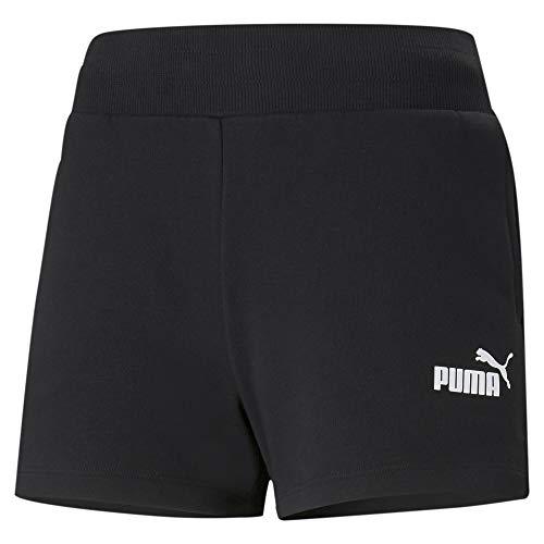 PUMA ESS 4` Sweat Shorts TR Pantalones Cortos, Mujer, Black, M