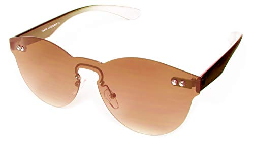 Occhiali da sole Trendy da donna Kat.3 Panto marrone scuro (19-050)
