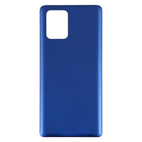 BACKBATTERYDOOR/para Samsung Galaxy S10 Lite Battery Funda Atrás, Reemplazo para la Cubierta de Vidrio de la cámara Trasera (Color : Azul)