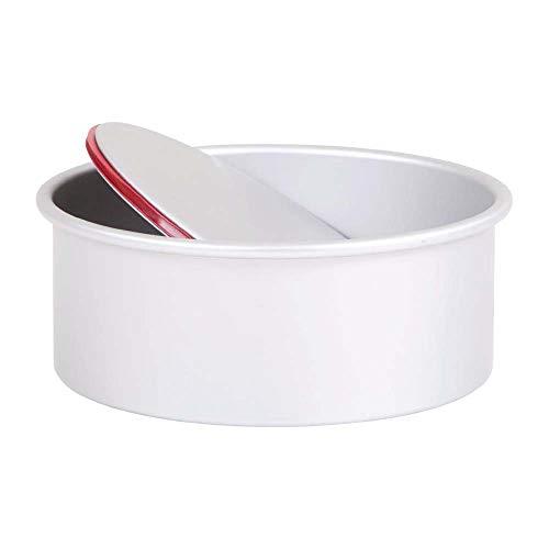 Pati-Versand 13689 Push Pan, rund, Aluminiumdruckguss, Silber, 20 x 9 x 20 cm