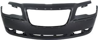 Crash Parts Plus Primed Front Bumper Cover Replacement for 2011-2014 Chrysler 300 Sedan