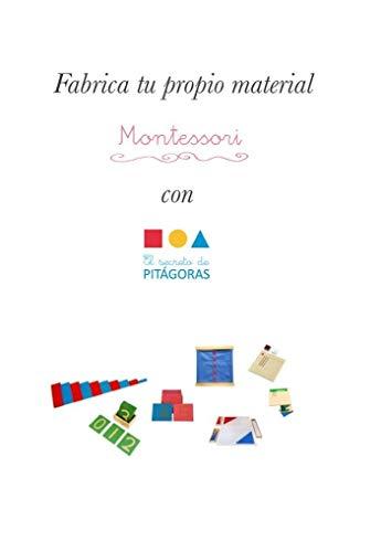 Material Montessori: Manual de fabricación