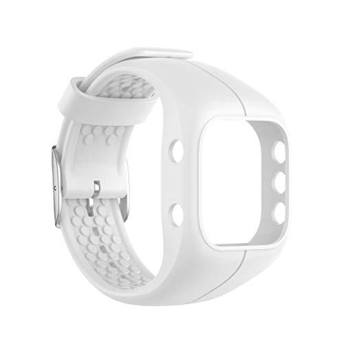Lewpox Pulsera para Reloj Polar A300, Pulseras de Silicona, Banda de Pulsera Deportiva de Silicone Fitness Tracker