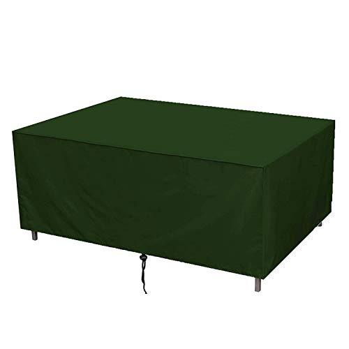 Muchas - Abdeckhauben für Möbelsets in Grün, Größe 210x110x70cm