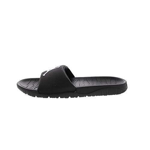 Jordan Men's Break Slide Sandals, Black/White, 11