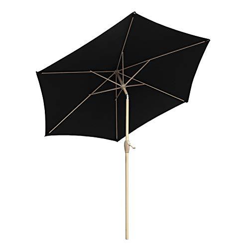 Sekey® sombrilla Parasol para terraza jardín Playa Piscina