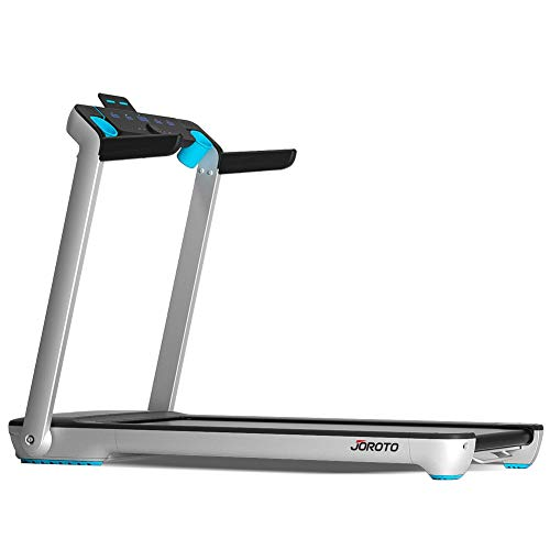 Folding Treadmill Electric Motorized Running Machine 20'' Wide Tread Belt w/Incline LCD Display and Cup Holder Easy Assembly
