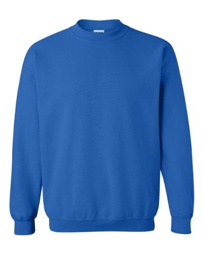 Gildan Men's Heavy Blend Crewneck Sweatshirt - Small - Royal