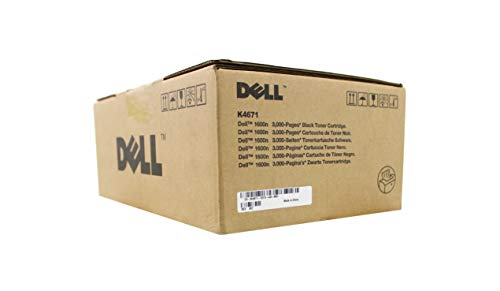Brand New. Dell K4671 Laser Toner Cartridge Page Life 3000pp Black [for 1600N] Ref 593-10044 . 593-10044