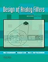 Design of Analog Filters (2nd, 10) by Schaumann, Rolf - Xiao, Haiqiao - Mac, Van Valkenburg [Hardcover (2009)]