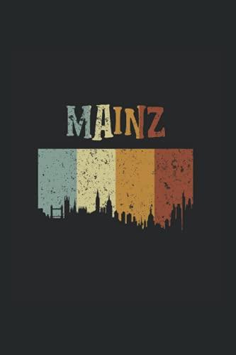 Mainz: Notizbuch Mainz Notizheft Liniert Notebook Geschenk Mainzer Rheinland-Pfalz