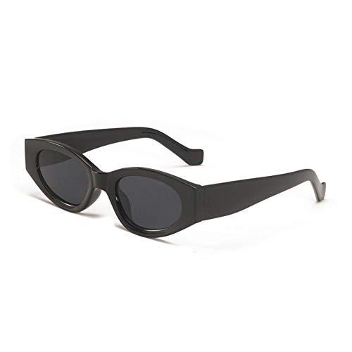 ZZOW Gafas De Sol Pequeñas con Forma De Ojo De Gato para Exteriores, Gafas De Sol De Moda para Hombre, Gafas De Sol con Tendencia Vintage, Beige, Verde, Uv400