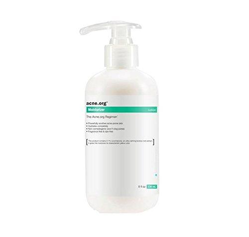acne. Org 8oz. humectante con licochalcone