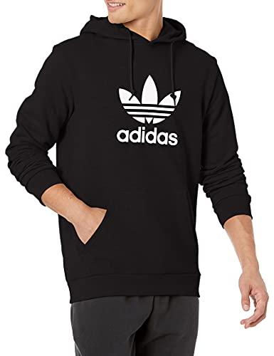 adidas Originals Sudadera con capucha de 3 láminas para hombre - negro - X-Small