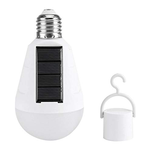 16 LED bombilla de luz solar, lámpara de iluminación de emergencia a prueba de agua luces colgantes con gancho para senderismo pesca tienda de campaña iluminación(Tipo de resistencia capacitiva)