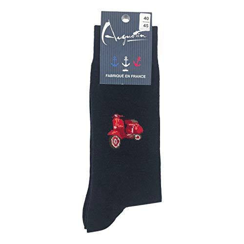 Augustin | Socken für Roller Vespa Gr. One size, marine