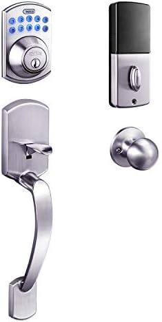 Keypad Deadbolt Tacklife Electronic Keypad Lock Single Cylinder Front Door Handleset with Polo product image