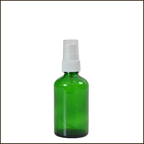Vaporisateur verre vert 50 ml DIN18 - VLV50
