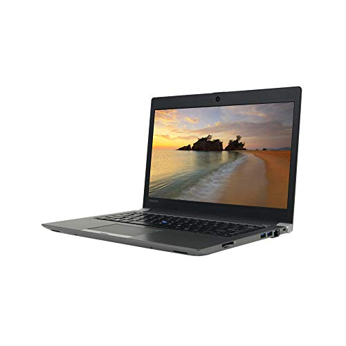 Toshiba Portege Z30-C 13.3 inches HD Laptop, Core i7-6600U 2.6GHz, 8GB RAM, 256GB Solid State Drive, Windows 10 Pro 64Bit, Webcam (Renewed)