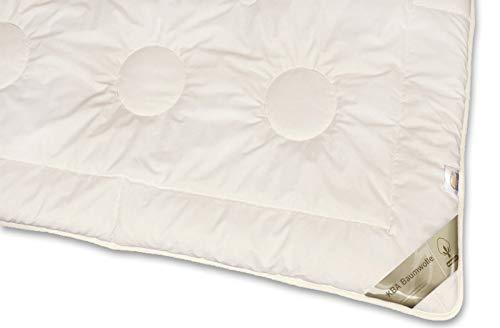 franknatur - Bettdecke KBA Bio Baumwolle Winter Decke waschbar Nancy 135x200