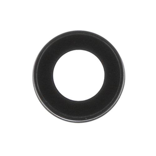 #N/A/a Cámara de Cristal Trasera Cristal de Zafiro + Soporte para 7 7 Plus - Negro iPhone 7