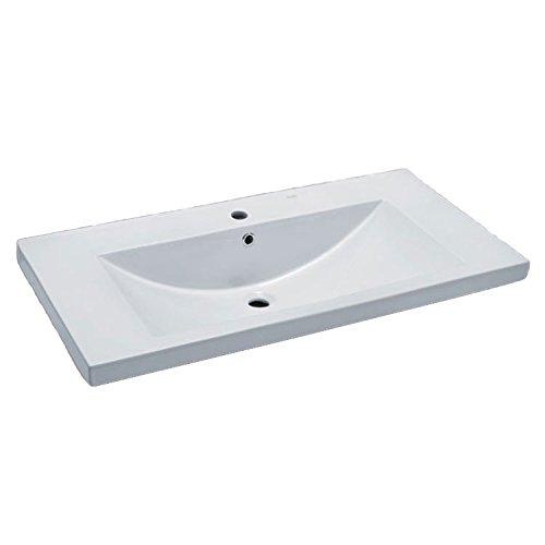 EAGO Waschbecken BH002E (Einbau) 100cm breit