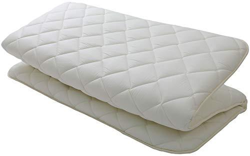 "MIINA Japanese Floor Matress, Shiki Futon, Floor Bed, Sofa Bed Matress, Twin (39""×78""),100% Cotton, Made in Japan"