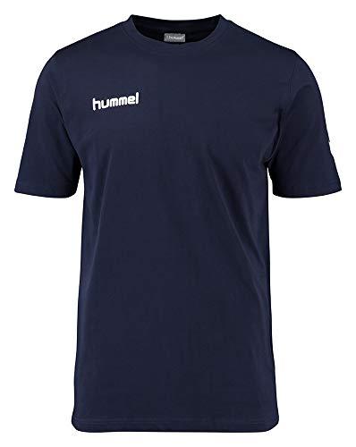 Hummel Herren T-Shirt Core Tee, Marine, L, 09-541-7026