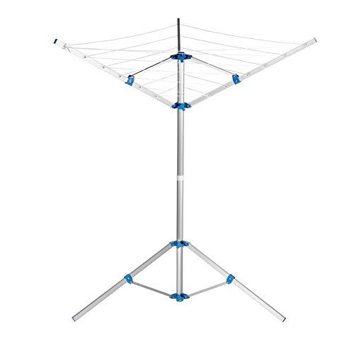 WAYYQX tendedero Ropa Estante Secado Plegable Ropa Acero Multifunción Perchas Almacenamiento para...